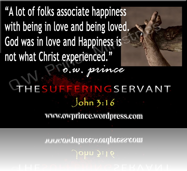 SUFFERING SERVANTJohn 3 16 Love